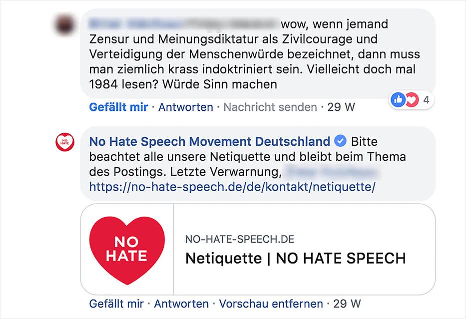 Hass Kommentare Auch Facebook Ist Kein Rechtsfreier Raum 6